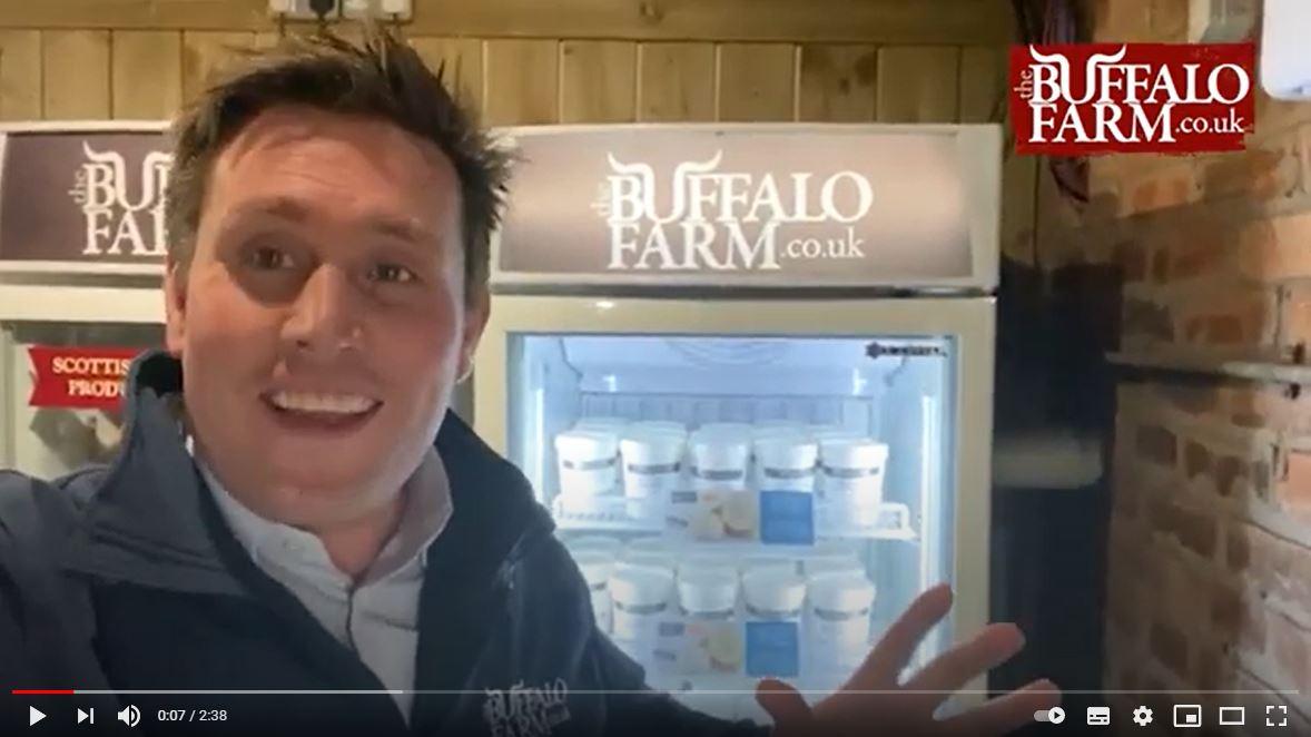 Buffalo Ice Cream from the Buffalo Farm