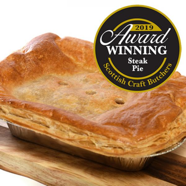 Desperate Dan Beef Steak Pie - Oven Ready | The Buffalo Farm