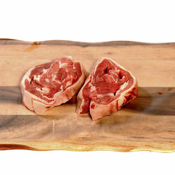 Native Gold Scotch Lamb Shoulder Steak | The Buffalo Farm