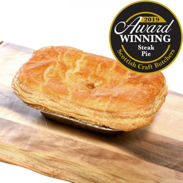 Medium Beef Steak Pie - Oven Ready | The Buffalo Farm