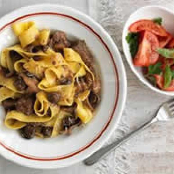 Pappardelle noodles substitute - Liss cardio workout